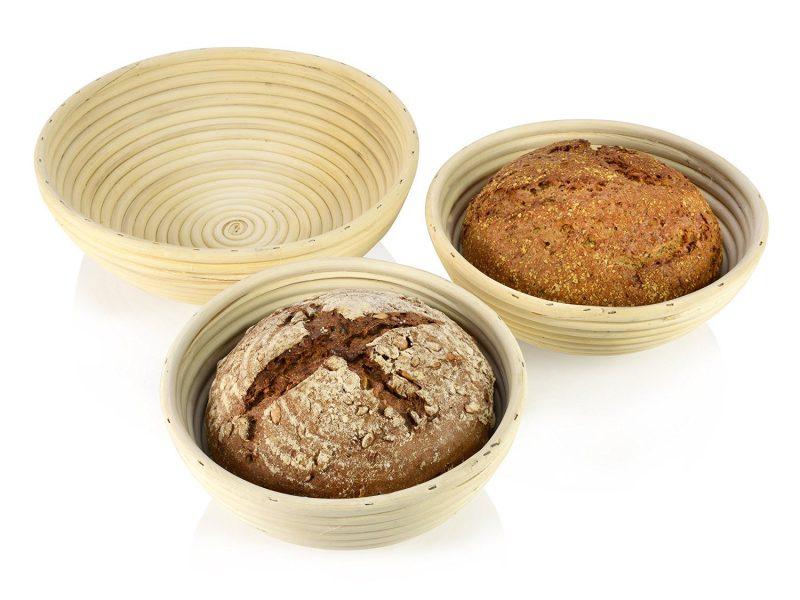 Gärkörpchen aus Peddigrohr kaufen mit Brot